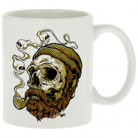 "Mug ""Santa Muerte - Smoking..."