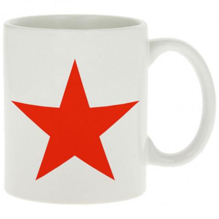 """Mug """"Etoile Rouge"""""""