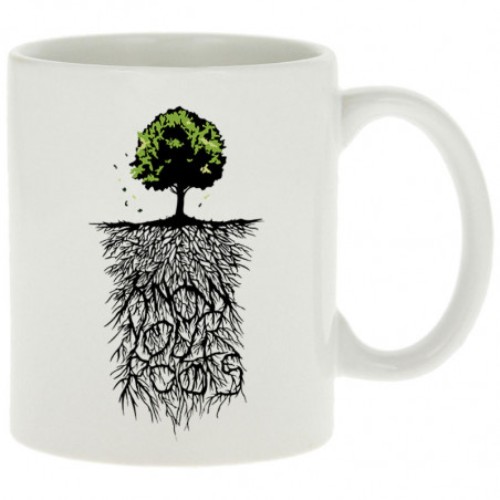 """Mug """"Know Your Roots"""""""