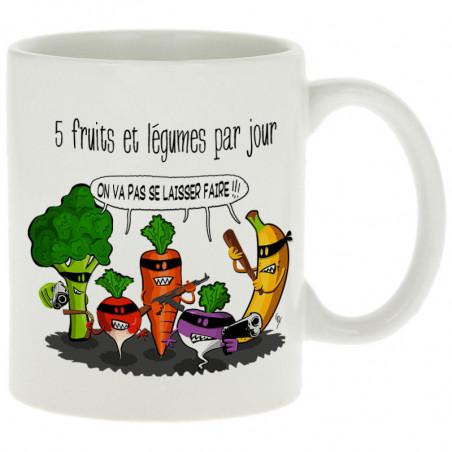 "Mug ""5 fruits et légumes..."