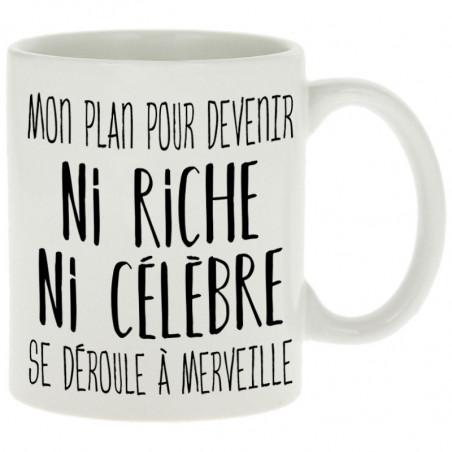"""Mug """"Mon plan pour devenir..."""