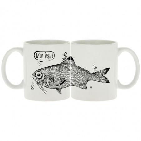 """Mug """"M'en fish"""""""