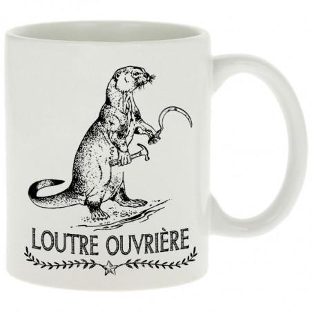 """Mug """"Loutre Ouvrière"""""""