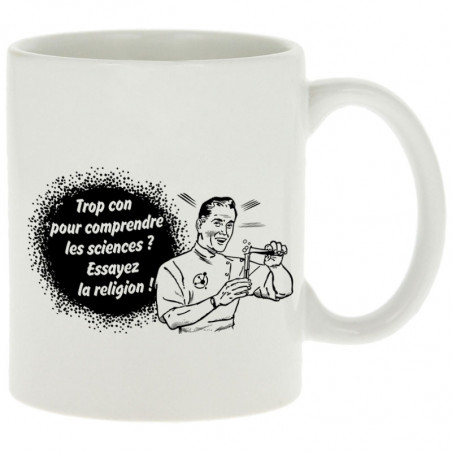 """Mug """"Trop con pour..."""