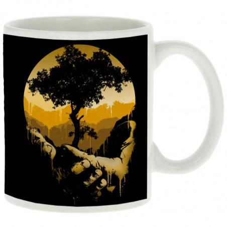 "Mug ""Aide la nature"""