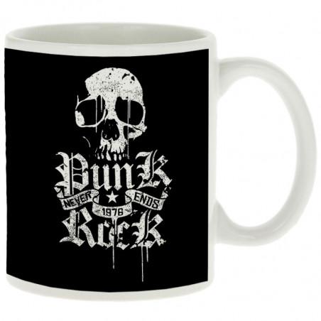 "Mug ""Punk Rock Never Ends"""