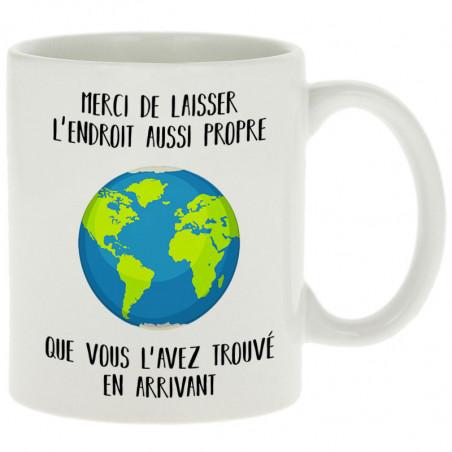 """Mug """"Merci de laisser..."""