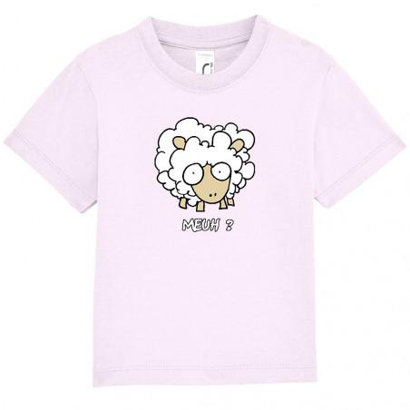 """Tee-shirt bébé """"Meuh"""""""
