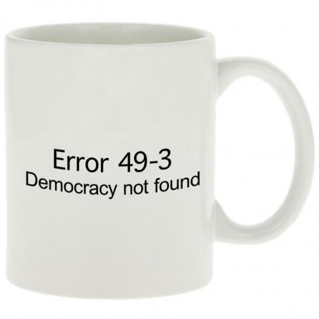 """Mug """"Error 49-3"""""""