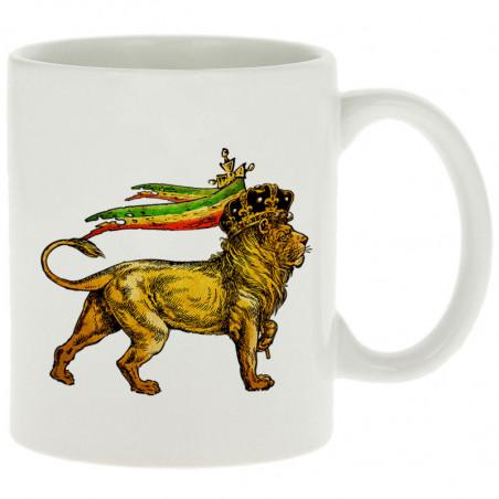 """Mug """"Rasta Lion"""""""