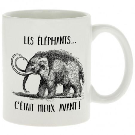 """Mug """"Les éléphants c'était..."""