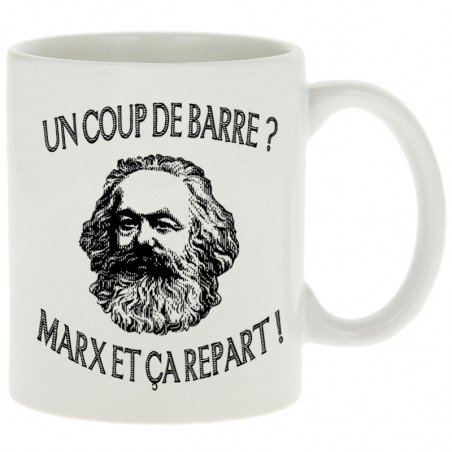 "Mug ""Marx et ça repart"""