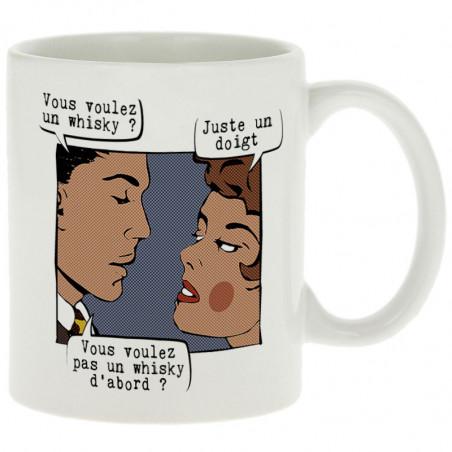 """Mug """"Juste un doigt"""""""