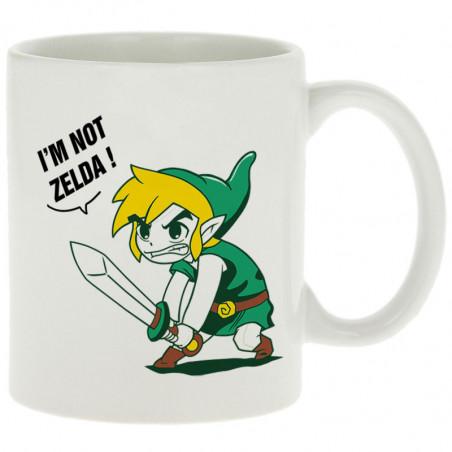 """Mug """"I 'm not Zelda"""""""