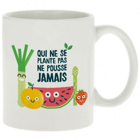 """Mug """"Qui ne plante pas"""""""
