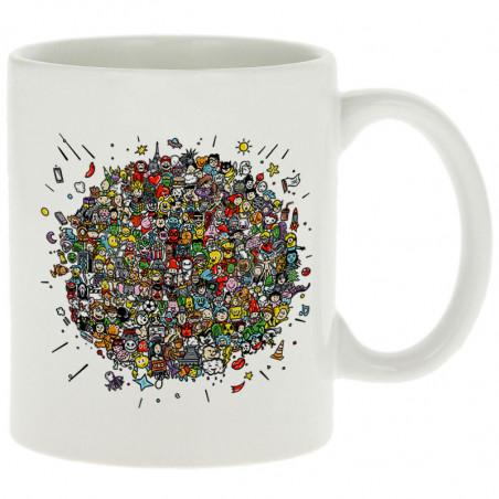 """Mug """"Planet Pop Culture"""""""