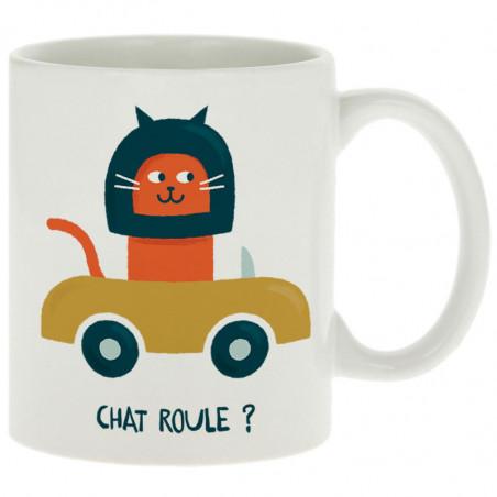 "Mug ""Chat roule ?"""