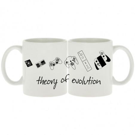 """Mug """"Theory of Evolution"""""""
