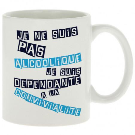 """Mug """"Convivialité (Femme)"""""""