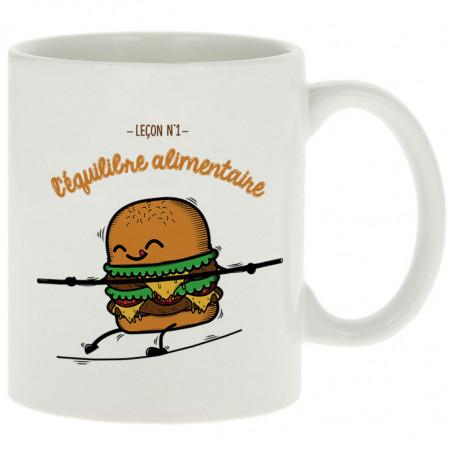 """Mug """"L'équilibre alimentaire"""""""
