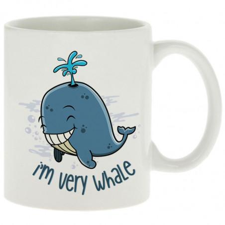 """Mug """"I'm Very Whale"""""""