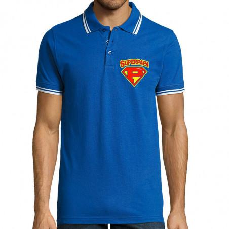 "Polo Homme ""Super Papa"""