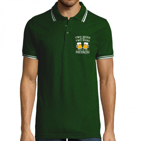 "Polo Homme ""Two Beers or..."