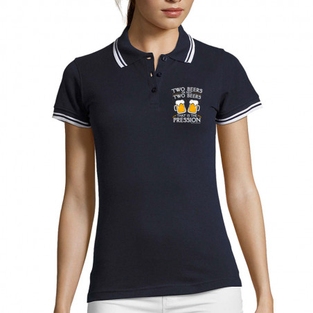"Polo Femme ""Two Beers or..."