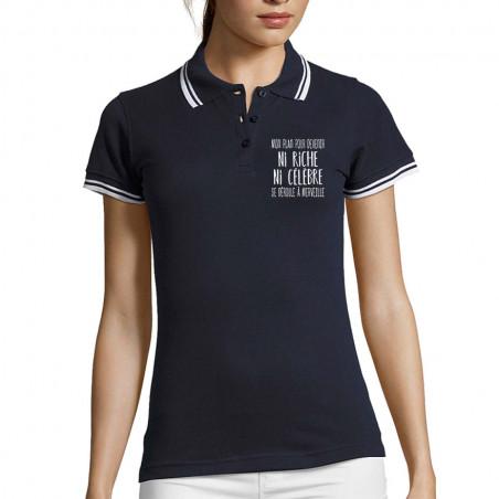 "Polo Femme ""Mon plan pour..."