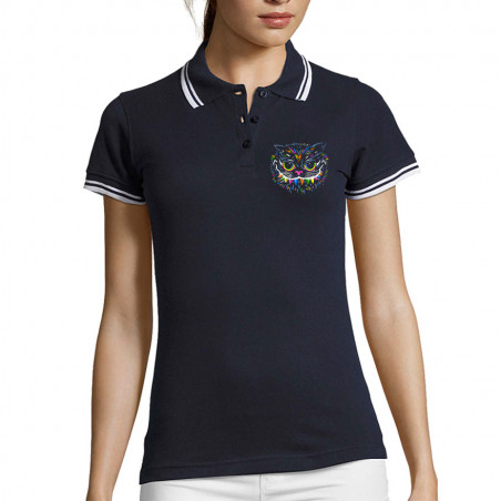 "Polo Femme ""Chat du Cheshire"""