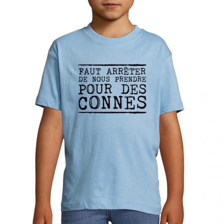 """Tee-shirt enfant """"Pour des..."""