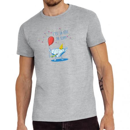 """Tee-shirt homme """"Le fête du..."""