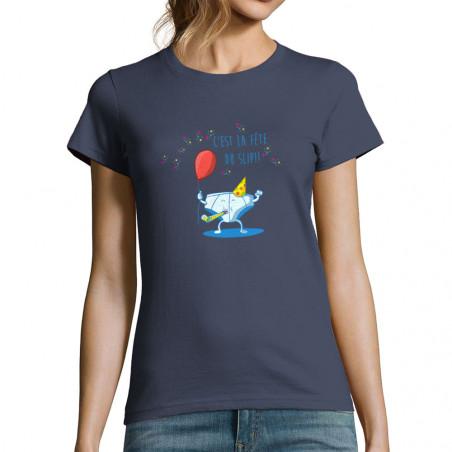 """T-shirt femme """"Le fête du..."""
