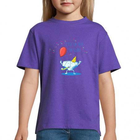 """Tee-shirt enfant """"Le fête..."""