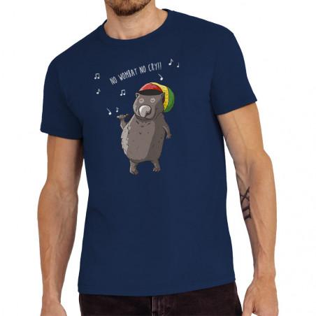 "Tee-shirt homme ""No wombat..."
