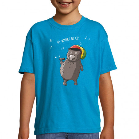 "Tee-shirt enfant ""No wombat..."