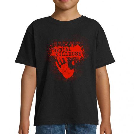 """Tee-shirt enfant """"Pas une..."""