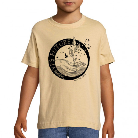 "Tee-shirt enfant ""Yes Future"""