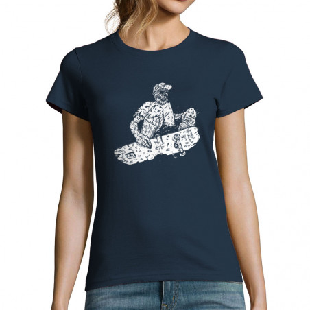 "T-shirt femme ""Zombie Ollie"""