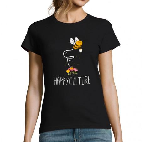 "T-shirt femme ""Happyculture"""