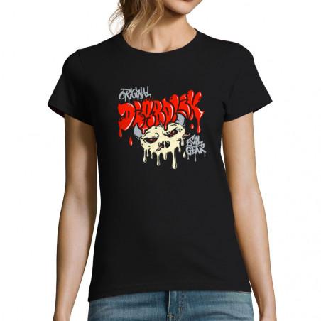 "T-shirt femme ""Worms Skull"""
