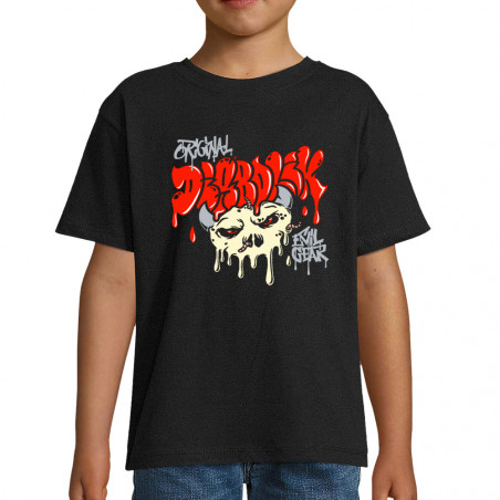"Tee-shirt enfant ""Worms Skull"""