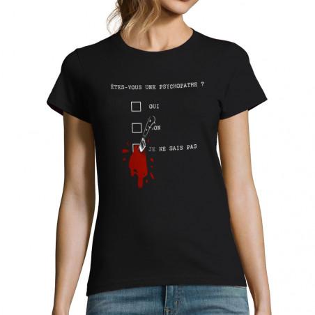 """T-shirt femme """"Une..."""