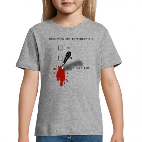 """Tee-shirt enfant """"Une..."""