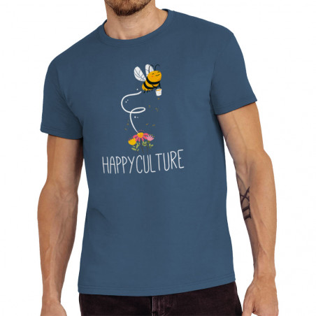 """Tee-shirt homme """"Happyculture"""""""