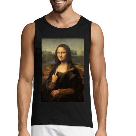"""Débardeur homme """"Mona Lisa..."""