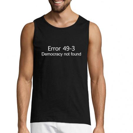 """Débardeur homme """"Error 49-3"""""""