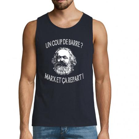 """Débardeur homme """"Marx et ça..."""