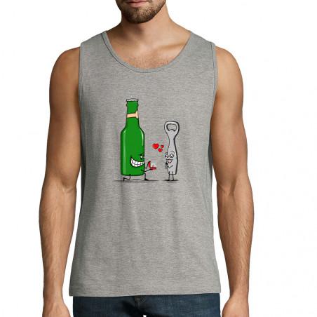 "Débardeur homme ""Beer Romance"""