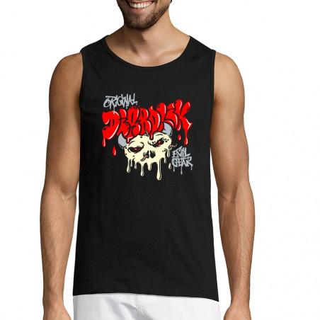 "Débardeur homme ""Worms Skull"""